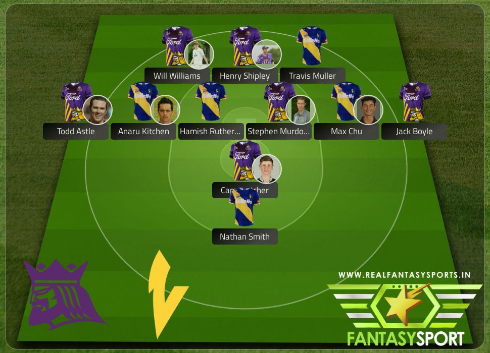 Canterbury Kings vs Otago Volts Dream 11 selection 2020