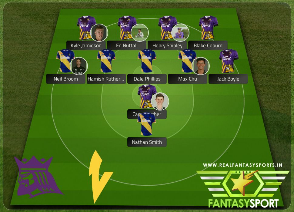 Canterbury Kings vs Otago Volts include Real Fantasy Sports recommendation Hamish Rutherford