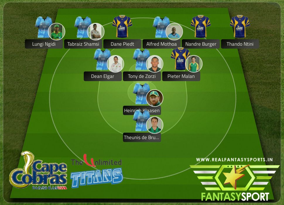 Cricket Cape Cobras Vs Titans Wednesday 12th February At 11 30