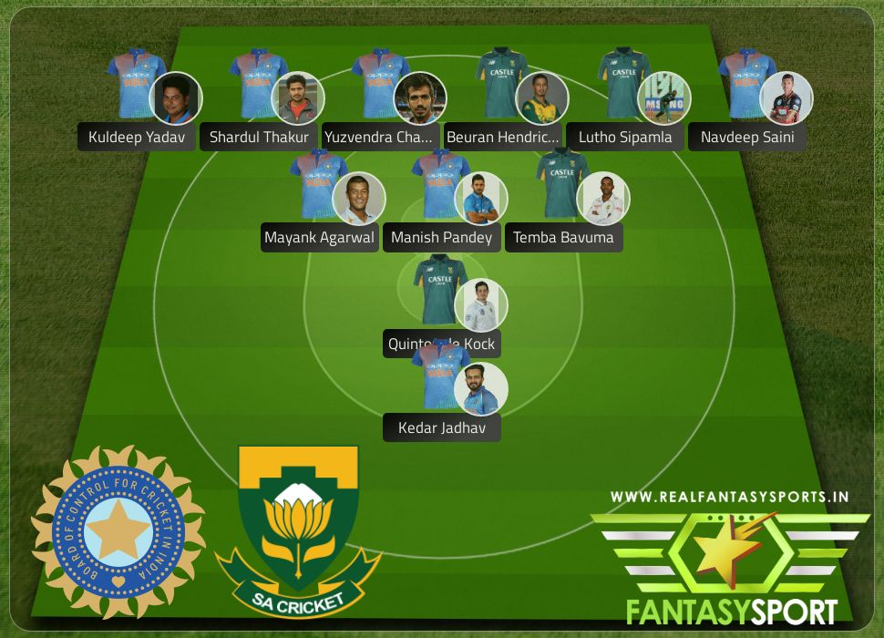 IND vs ZAF include Dream 11 selection Kuldeep Yadav