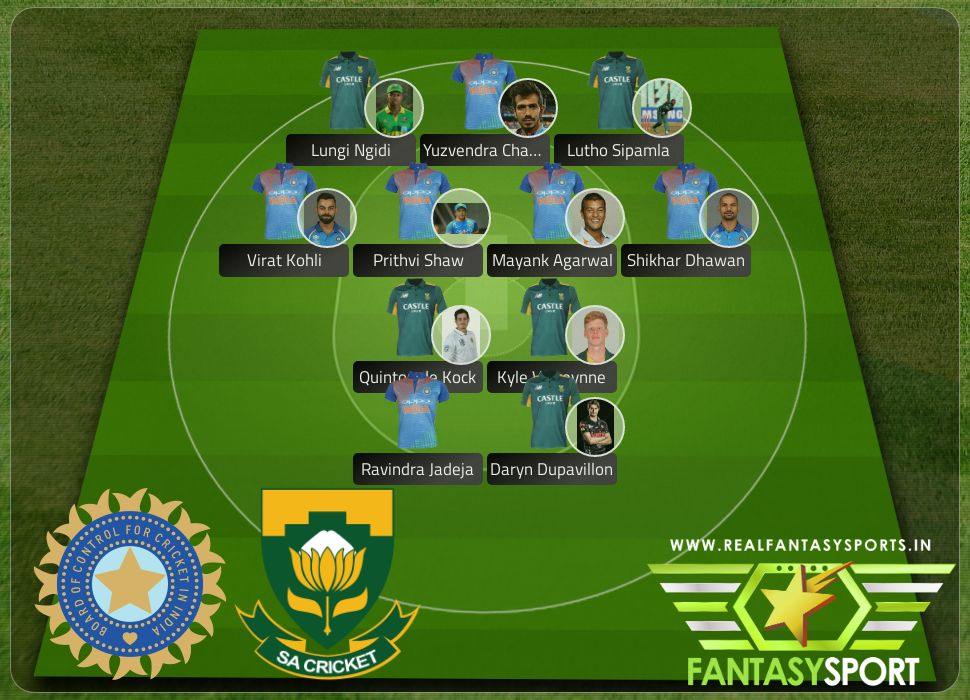 IND vs ZAF include Dream11 team Quinton de Kock