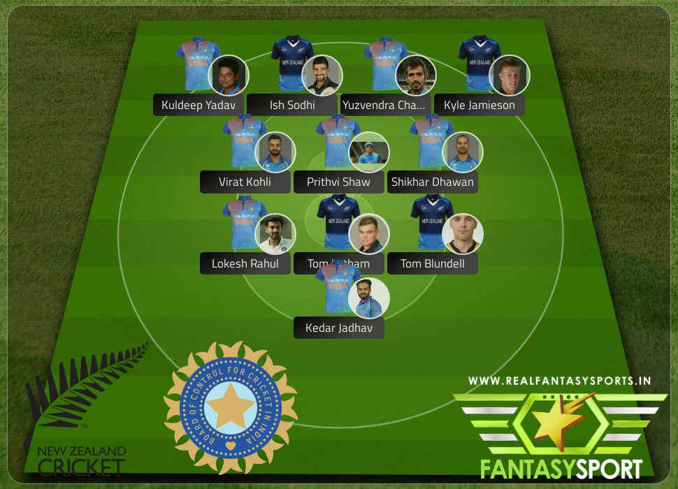 Cricket Nz Vs Ind Include Shared Dream11 Team Selection Lokesh Rahul