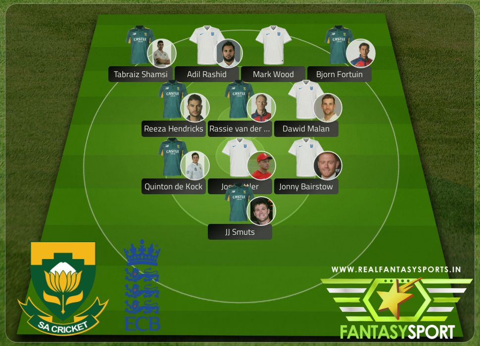 Cricket South Africa Vs England With Dream Team Originally Selected By Brandydrinker Jos Buttler