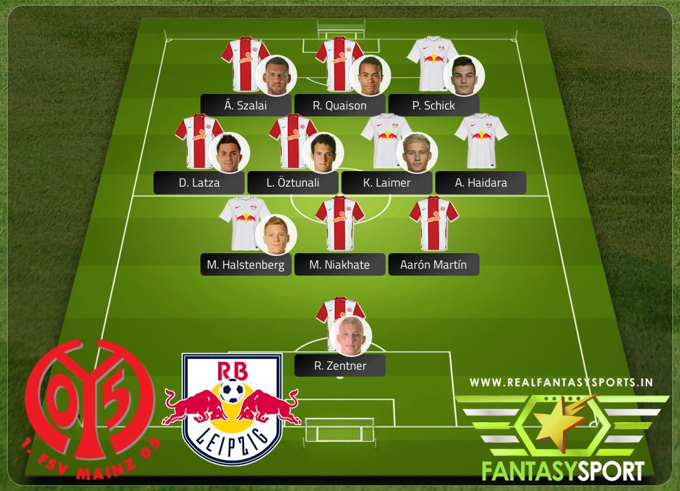 Mainz 05 Rb Leipzig Shared Team Pick 20th March 2020 Real Fantasy Sports India