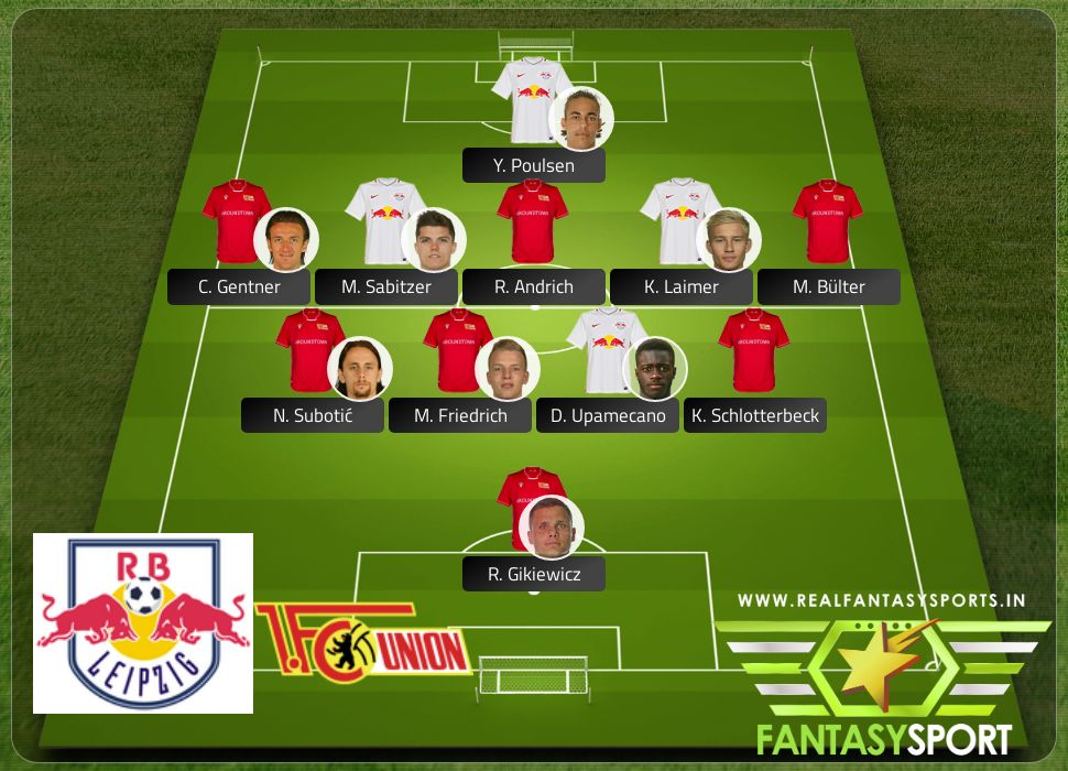 Rb Leipzig Vs Union Berlin Shared Team Pick 18th January 2020 Real Fantasy Sports India